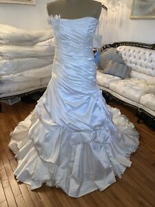 #312 Midgley and Sottero Couture Wedding Gown Sz 10 Ivory NWT