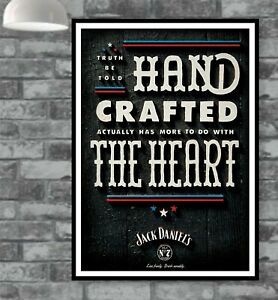 Jack Daniels Poster Picture Vintage Old Wall Man Cave Bar  (TP331)