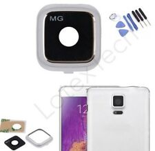 Camera Lens Cover White Frame Replacement Parts For Samsung Galaxy Note 4 TOOL
