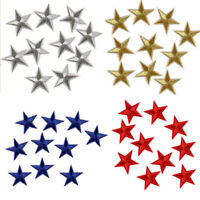 10 Pcs Star Embroidered Garment Applique Sew Iron on Patches Badges  Fabric COZ