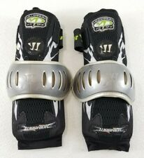 Warrior Millennial Pro Gear Lacrosse Arm Elbow Pads Exo Black Silver Size Large