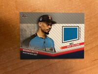 2020 Topps Update - Mookie Betts - 2017 All Star Jersey Relic RED SOX