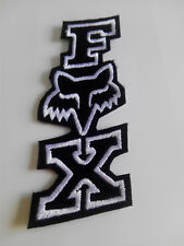 Parche bordado para coser estilo FOX 11/4,5 cm adorno ropa personalizada