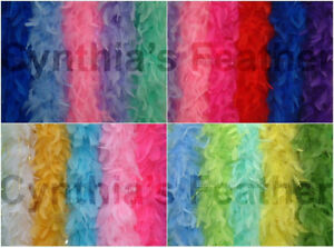 45 Gram Chandelle Feather Boa, Solid Colors  20+ Colors to Pick up From, NEW