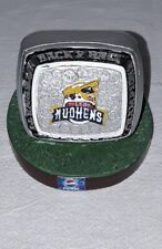 TOLEDO MUD HENS INTERNATIONAL LEAGUE CHAMPIONS RING BACK 2 BACK BOBBLE DOBBLES
