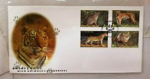 FDC Thailand 1998 - Wild Animals 6th Series (4v Stamps Cover)