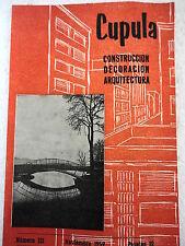 Revista Cupula num.121 Nov.1959 Construccion,Decoracion,Arquitectura