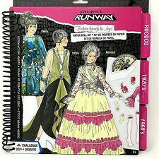 Design Paperdolls Fashion Through the Ages 3 Eras: Rococo, Flappers, Mod Look