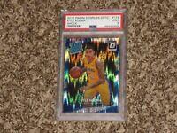 Kyle Kuzma 2017 Panini Donruss Optic Shock Rookie Card RC LA Lakers PSA 9 MINT