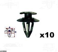 10x Türverkleidung Clips Befestigung Halterung VW GOLF CORRADO POLO T2 T4 A12954