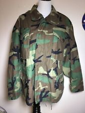 USAF Cold Weather Field Coat Camo 1993 Size Med -X Short
