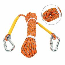 32ft Outdoor Climbing Rope Rock Climbing Rope, Escape Rope Climbing Equipment