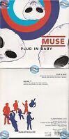 MUSE PLUG IN BABY france french CD SINGLE card sleeve NEUF NEW NEU