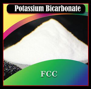 PURE  Potassium Bicarbonate ORGANIC FOOD GRADE - FCC  Grade - FREE FAST SHIPPING