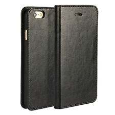 Luxury Genuine Leather Wallet Card Slot Case Flip Cover Skin For S9 P20 Pro Lite