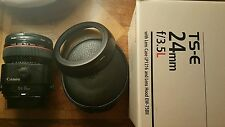 Canon TS-E 24mm F/3.5L - Boxed & Very Clean Example -
