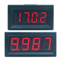 Digital LED 4 Bits DC 0-100V Voltmeter Panel Volt Voltage Meter Tester Detector