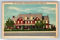 Hershey PA Farm Home Orphan Boys Industrial School Linen Pennsylvania Postcard
