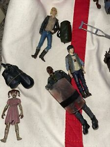 the walking dead action figures lot