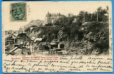CPA Canada: QUEBEC - Chateau Frontenac from Lower Town / 1904