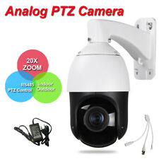 Security Day Night High Speed Dome Analog PTZ Camera 20X Zoom RS485 PTZ Control