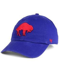 Buffalo Bills 47 Brand Clean Up Hat Adjustable Cap Legacy