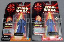 "Star Wars Episode 1 Chancellor Valorum & Senator Palpatine 4"" Action Figures NIP"