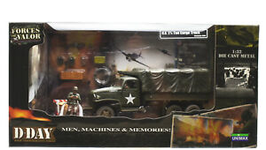 US 2 1/2 Ton Cargo Truck D Day 1944 Forces of Valor véhicule militaire 1:32