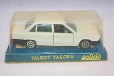 Solido 1307 Talbot Tagora white 1: 43 mint in box superb