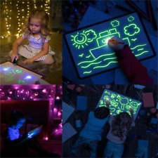 A5 Draw With Light Drawing Board Developing Toy Kids Educational Magic Painting