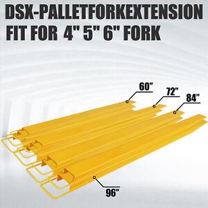 Pallet Fork Extension 60'' 72'' 84'' 96'' Forklift Extensions Forklift Loaders