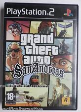 jeu GRAND THEFT AUTO GTA SAN ANDREAS sur playstation 2 PS2 francais spiel juego
