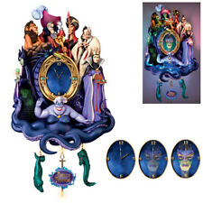 Timeless Treachery Villains Disney Cuckoo Clock Light Up  - Bradford Exchange