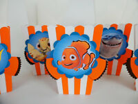 Finding Nemo  Party favors. popcorn/ candy box. goodie bags  SET OF 10