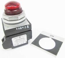 GE CR104PLG32RA1 New 120V On Red Lens Transformer Pilot Light NIB