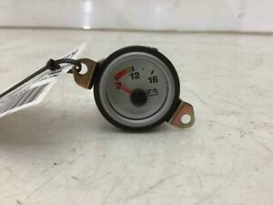 99-02 Dodge Viper OEM Battery / Voltage Gauge (White Face / Silver Trim)
