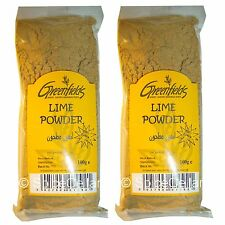 Lime Powder / Lumi / Black Lime - 2 x 100g Bags - Greenfields
