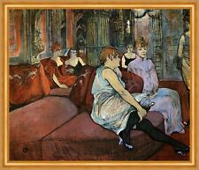 In the salon in the Rue Des Moulins Henri Toulouse-Lautrec Brothel LW H a2 0416