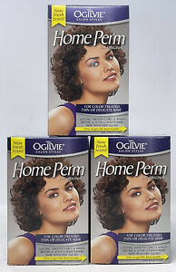 3 OGILVIE HOME PERM THE ORIGINAL COLORTREATED THIN OR DELICATE HAIR ASCENDIA LOT