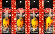 """New listing (4) Lucky Craft Made Japan Mini Sap Dr 2 1/4"""" Floating Crankbaits Little Panther"""