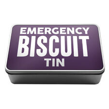 Emergency Biscuit Tin Metal Storage Tin Box A024 Novelty Gift Idea Kitchen