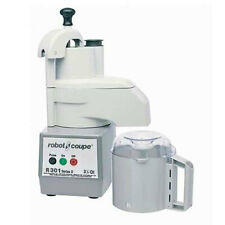 Robot Coupe R301 Combination Food Processor With 2 Disc Amp 35 Qt Gray Bowl