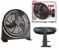 Bodenventilator Wandventilator Ventilator Power Windmaschine Standventilator NEU