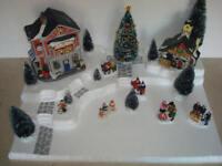 Christmas Village Display Base Platform J19 For Lemax Dept 56 Dickens + More