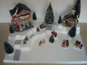 Christmas Village Display Platform J19 For Lemax Dept 56 Dickens + More