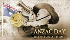 2012: ANZAC Day: Lest We Forget - Perth $1 PNC