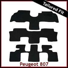 PEUGEOT 807 2002 - 2005 2006 2007 2008 2009 2010 MONTATO SU MISURA MOQUETTE TAPPETINI AUTO