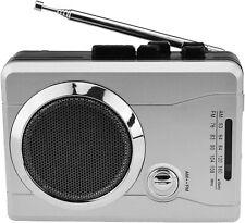 AM/FM Pocket Radio Cassette Player, Portable Personal Voice Audio Recorder