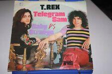 "T.REX Telegram Sam / BabyStrange 7"" SINGLE Vinyl ARIOLA 10989"