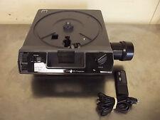 Kodak Medalist AF Carousel Slide Projector w/Remote & Zoom Lens-Works Good-m882x